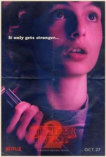 Stranger Things (2ª Temporada) - Poster / Capa / Cartaz - Oficial 7