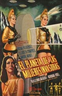 O Planeta das Mulheres Invasoras - Poster / Capa / Cartaz - Oficial 1