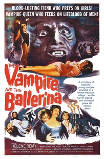 O Vampiro e a Bailarina - Poster / Capa / Cartaz - Oficial 1