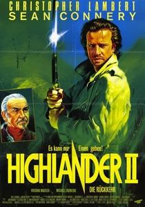 Highlander II - A Ressurreição - Poster / Capa / Cartaz - Oficial 1