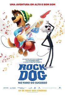 Rock Dog: No Faro do Sucesso - Poster / Capa / Cartaz - Oficial 3