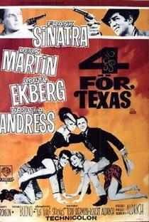 Os 4 Heróis do Texas - Poster / Capa / Cartaz - Oficial 2