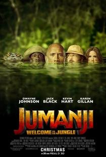 Jumanji: Bem-Vindo à Selva - Poster / Capa / Cartaz - Oficial 4