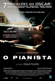 O Pianista - Poster / Capa / Cartaz - Oficial 3