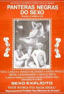 As Panteras Negras do Sexo - Poster / Capa / Cartaz - Oficial 1