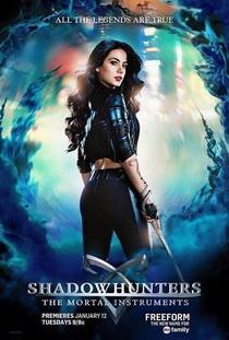 Shadowhunters - Caçadores de Sombras (1ª Temporada) - Poster / Capa / Cartaz - Oficial 4