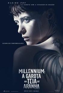 Millennium: A Garota na Teia de Aranha - Poster / Capa / Cartaz - Oficial 2
