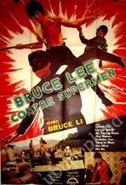 Bruce Lee Against Superman - Poster / Capa / Cartaz - Oficial 2