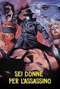 Seis Mulheres para o Assassino - Poster / Capa / Cartaz - Oficial 6