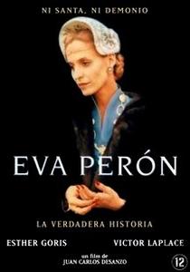 Eva Perón - A Verdadeira História  - Poster / Capa / Cartaz - Oficial 1