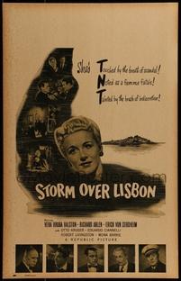 Tormenta Sobre Lisboa - Poster / Capa / Cartaz - Oficial 1