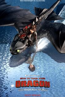 Como Treinar o Seu Dragão 3 - Poster / Capa / Cartaz - Oficial 2