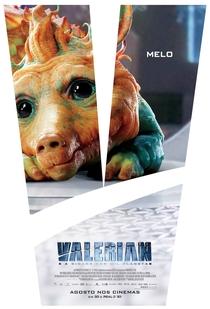 Valerian e a Cidade dos Mil Planetas - Poster / Capa / Cartaz - Oficial 7