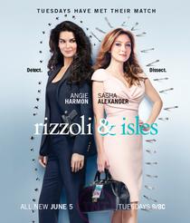 Rizzoli and Isles (3ª Temporada) - Poster / Capa / Cartaz - Oficial 1