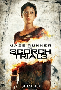 Maze Runner: Prova de Fogo - Poster / Capa / Cartaz - Oficial 10