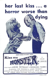 Kiss Me Monster - Poster / Capa / Cartaz - Oficial 2