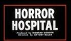 Horror Hospital Trailer