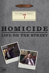 Homicídio (7ª Temporada) - Poster / Capa / Cartaz - Oficial 1
