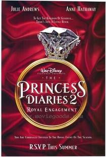 O Diário da Princesa 2: Casamento Real - Poster / Capa / Cartaz - Oficial 3