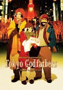 Tokyo Godfathers - Poster / Capa / Cartaz - Oficial 1