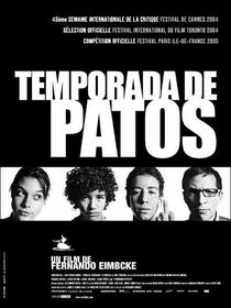 Temporada de Patos - Poster / Capa / Cartaz - Oficial 1