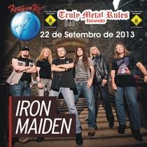 Iron Maiden - Rock in Rio 2013 - Poster / Capa / Cartaz - Oficial 1