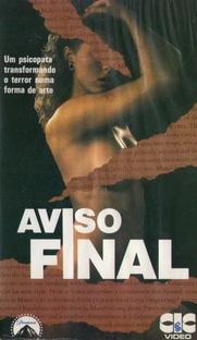 Aviso Final - Poster / Capa / Cartaz - Oficial 1