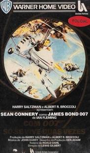 Com 007 Só Se Vive Duas Vezes - Poster / Capa / Cartaz - Oficial 6