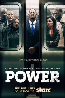 Power (2ª Temporada)  - Poster / Capa / Cartaz - Oficial 1