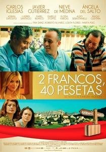 2 Francos, 40 Pesetas - Poster / Capa / Cartaz - Oficial 1