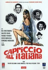 Capricho à Italiana - Poster / Capa / Cartaz - Oficial 1