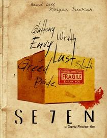 Seven: Os Sete Crimes Capitais - Poster / Capa / Cartaz - Oficial 8