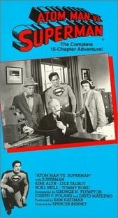 Superman vs. Homem-Átomo - Poster / Capa / Cartaz - Oficial 6