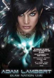 Glam Nation Live - Poster / Capa / Cartaz - Oficial 1