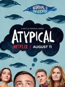Atypical (1ª Temporada) - Poster / Capa / Cartaz - Oficial 2