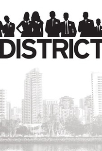 The District (2ª Temporada) - Poster / Capa / Cartaz - Oficial 1
