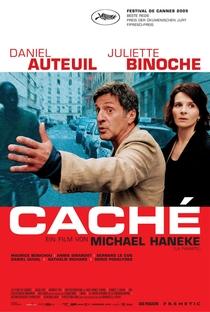 Caché - Poster / Capa / Cartaz - Oficial 3