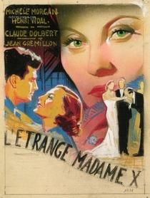 L'Étrange Madame X - Poster / Capa / Cartaz - Oficial 1