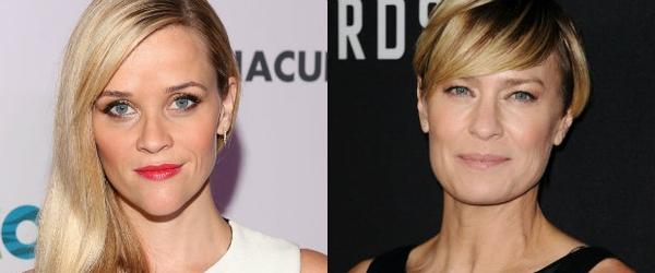 Reese Witherspoon e Robin Wright engajadas em série sobre primeiras-damas dos EUA