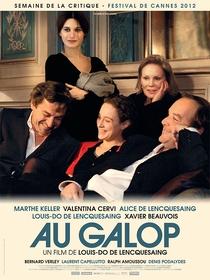À Galope - Poster / Capa / Cartaz - Oficial 1
