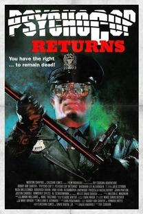 Psycho Cop 2: O Retorno Maldito - Poster / Capa / Cartaz - Oficial 9