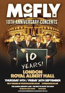 McFLY - 10th Anniversary - Live At Royal Albert Hall - Poster / Capa / Cartaz - Oficial 1