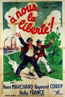 A Nós a Liberdade - Poster / Capa / Cartaz - Oficial 5