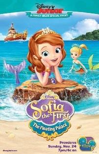 Princesinha Sofia - Um Palácio na Água - Poster / Capa / Cartaz - Oficial 1