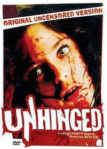 Unhinged - Poster / Capa / Cartaz - Oficial 1