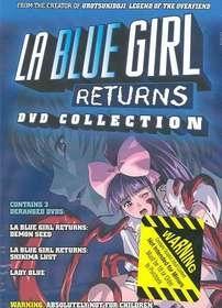 La Blue Girl Returns - Poster / Capa / Cartaz - Oficial 1