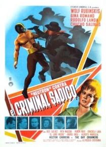 Neutrón contra el criminal sádico - Poster / Capa / Cartaz - Oficial 1