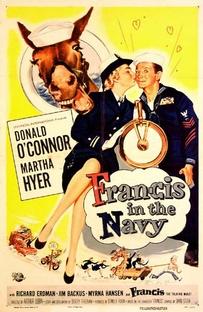 Francis na Marinha - Poster / Capa / Cartaz - Oficial 1