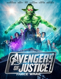 Avengers of Justice: Farce Wars - Poster / Capa / Cartaz - Oficial 1