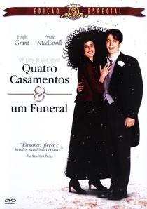 Quatro Casamentos e Um Funeral - Poster / Capa / Cartaz - Oficial 2